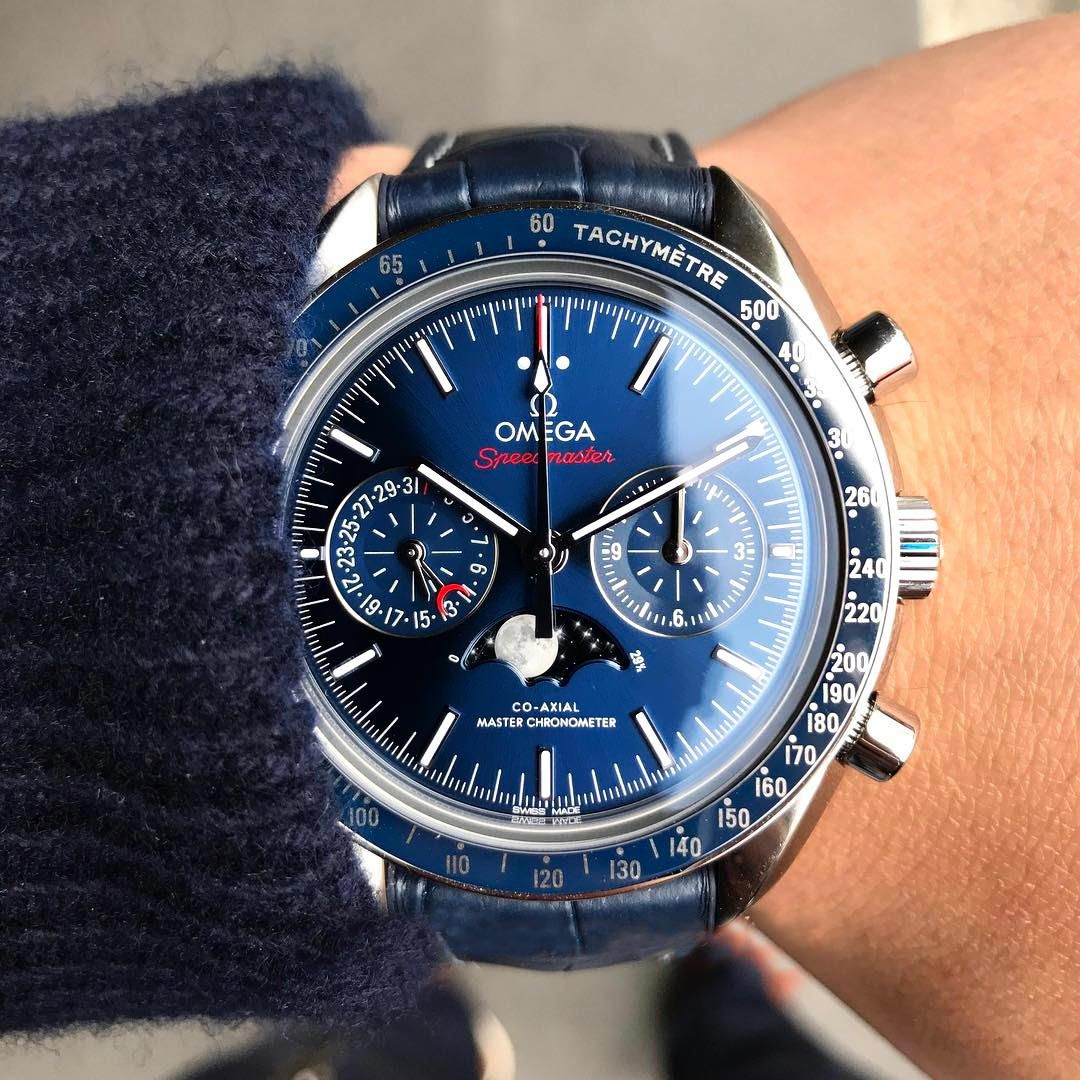 54ead3e2e 2011 was when Omega Speedmasters got their first in-house movement in  Calibre 9300.