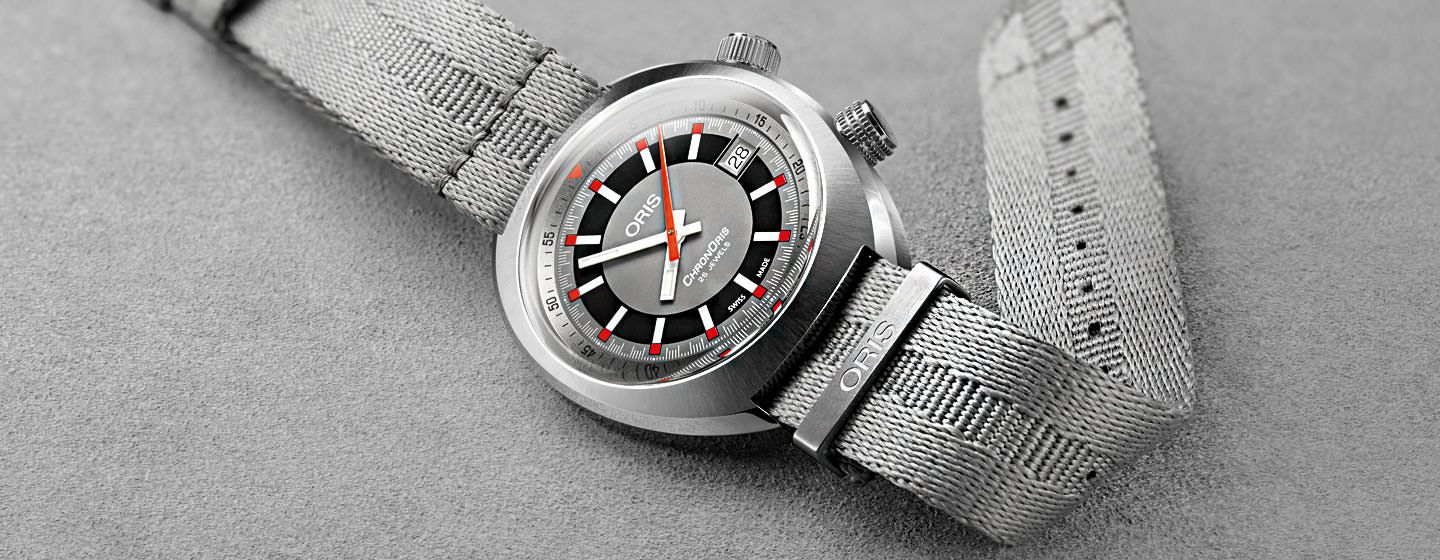 5c72817dd ReviewThe 2017 Oris Chronoris Date: A Retro-Inspired Timepiece with a  clever name and an unmistakable design