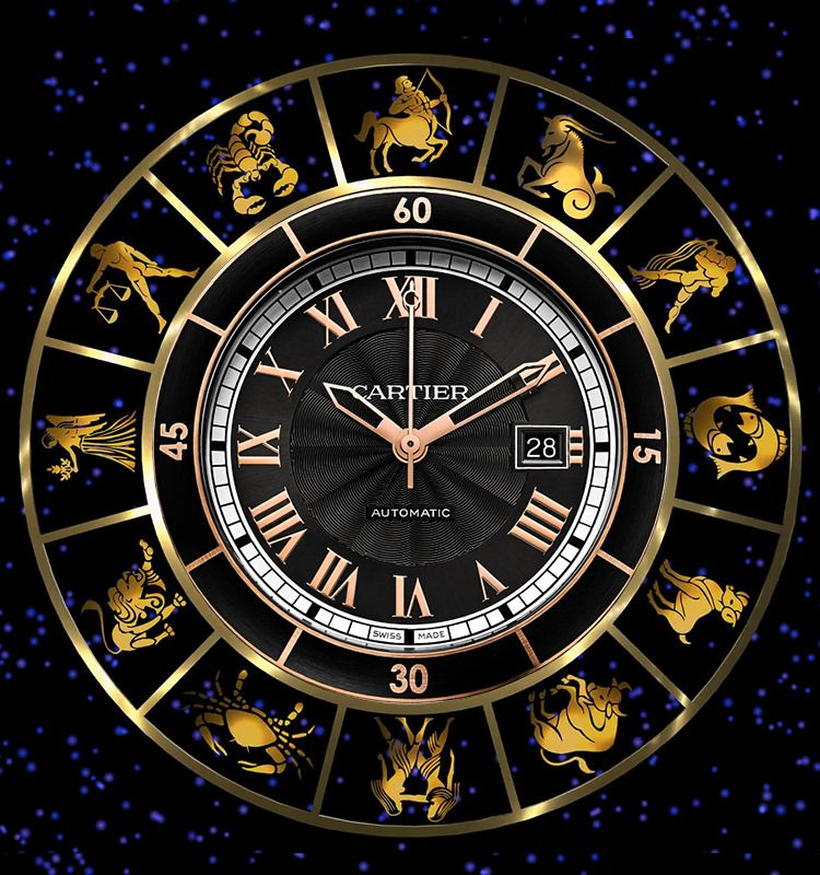 Luxury wrist watches based on your zodiac sign and forecast