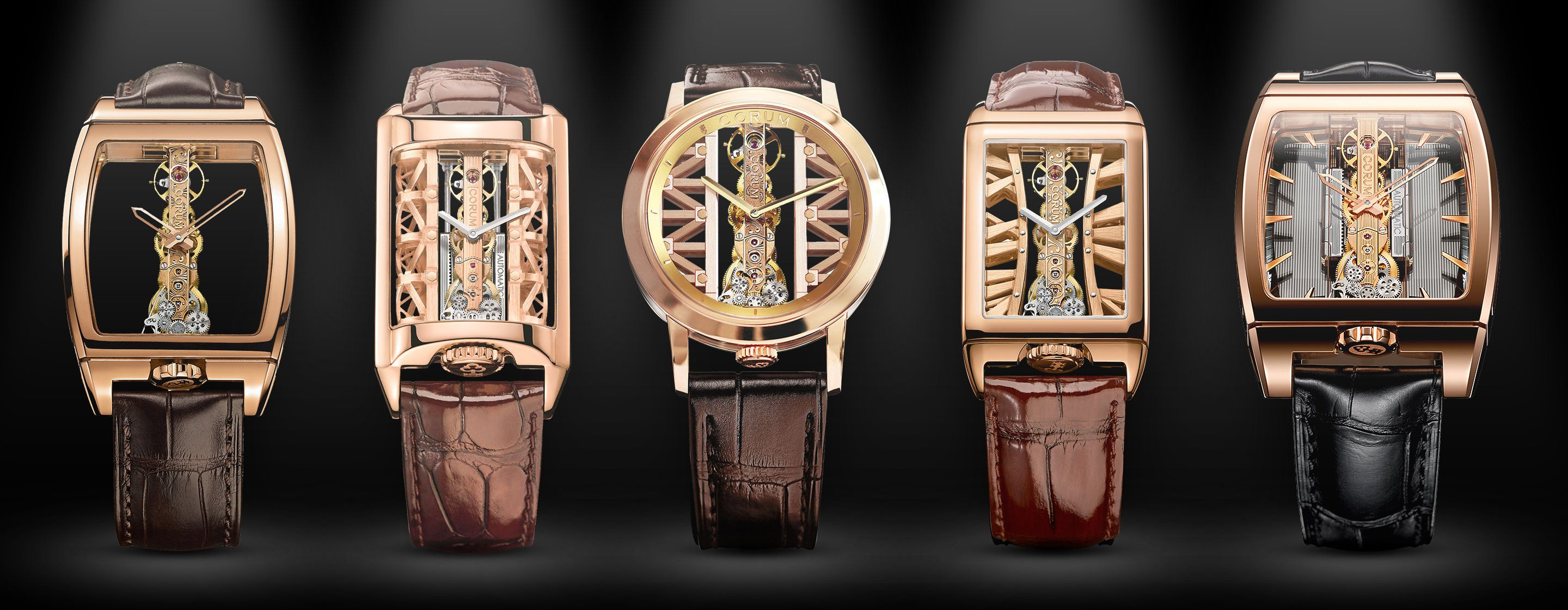 c95f16cfddd Round-UpA Bridge Between Minimalism And Mechanical Mastery: The Finest  Corum Golden Bridge Watches