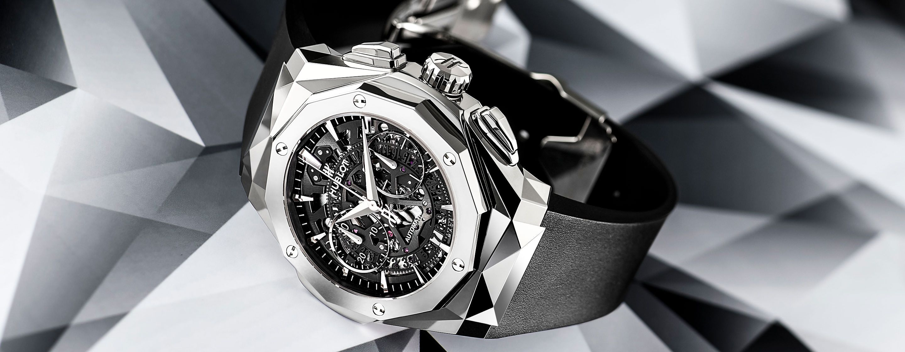 18c8d1544ee131 FeatureHublot's Sculpted New Work Of Art – The Classic Fusion Aerofusion  Chronograph Orlinski