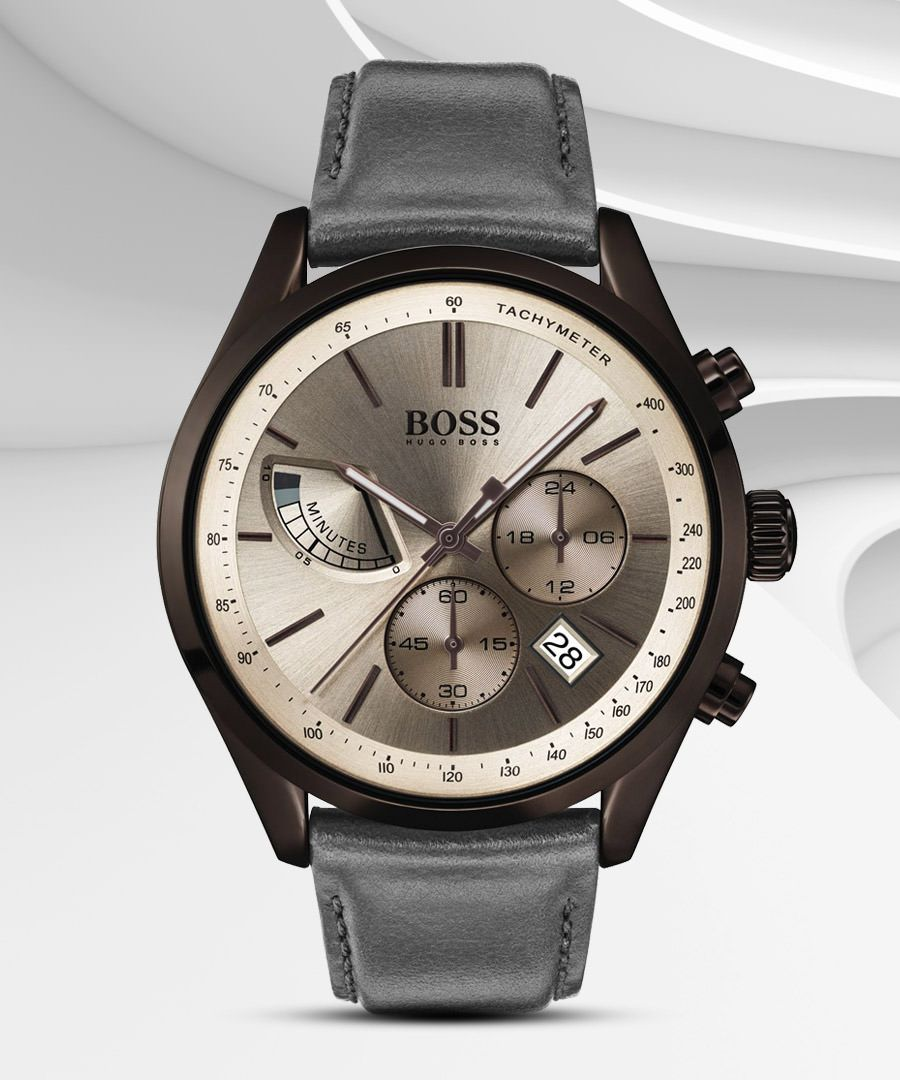842efd788 Hugo Boss With a hint of light, the Contemporary Sport watch gleams and  glows, just like the Grand Prix race cars that flash right past you.