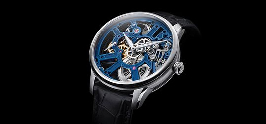 8843e590c A Closer Look At The Maurice Lacroix Masterpiece Skeleton—Mechanical  Watchmaking At Its Finest